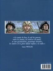 Verso de Les plaines d'Abraham -2- Livre II