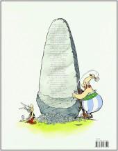 Verso de Astérix (en espagnol) -14c2011- Astérix en Hispania