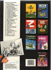Verso de Spirou et Fantasio -6c1985- La corne de rhinocéros
