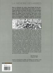 Verso de La mémoire des arbres -9- Isabelle
