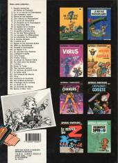 Verso de Spirou et Fantasio -20d1987- Le faiseur d'or