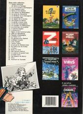 Verso de Spirou et Fantasio -28a1986- Kodo le tyran