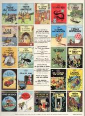 Verso de Tintin (Historique) -20C1bis- Tintin au tibet