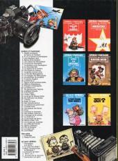 Verso de Spirou et Fantasio -HS01 b1998- L'héritage
