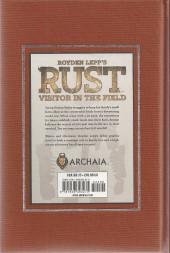 Verso de Rust (2011) -1- Visitor in the field