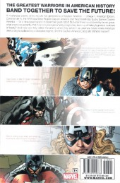 Verso de Captain America Corps (2011) -INT- Captain America Corps