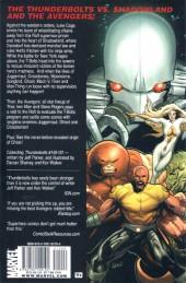 Verso de Thunderbolts Vol.1 (Marvel Comics - 1997) -INT08- Shadowland