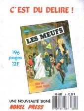 Verso de Com'X'Troupier (Novel Press) -5- Première permission