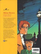 Verso de Agatha Christie (Emmanuel Proust Éditions) -5- Mister Brown