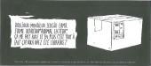 Verso de Mini-récits et stripbooks Spirou -MR4031- Le Maga