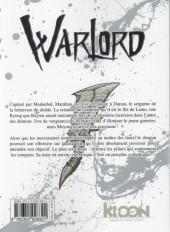 Verso de Warlord (Ki-oon) -9- Warlord