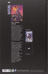 Verso de Batgirl (DC Renaissance) -1- Bienvenue à Burnside