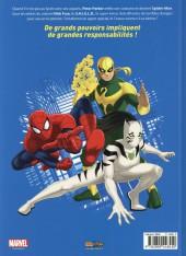 Verso de Ultimate Spider-Man (Panini Kids) -1- Agent du S.H.I.E.L.D.