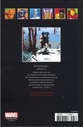 Verso de Marvel Comics - La collection (Hachette) -3713- Wolverine - Arme X
