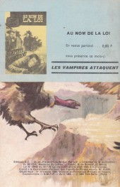 Verso de Télé série bleue (Les hommes volants, Destination Danger, etc.) -6- Les hommes volants - Car les condors ont des ailes