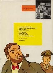 Verso de Blake et Mortimer (Historique) -2d82- Le Secret de l'Espadon 2