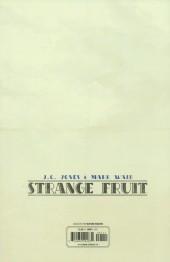 Verso de Strange Fruit (Waid/Jones, 2015) -1- Chapter One