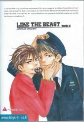 Verso de Like the Beast -5- Tome 5