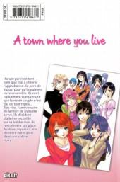 Verso de A town where you live -18- Tome 18
