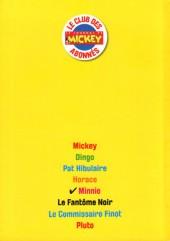 Verso de Les héros de Mickeyville -5- Minnie