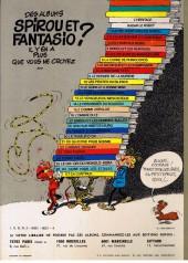 Verso de Spirou et Fantasio -19a1976- Panade à Champignac