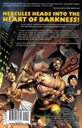 Verso de The incredible Hercules (2008) -INT05 a- Dark Reign