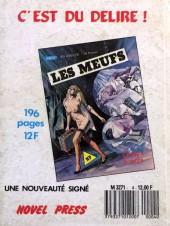 Verso de Orient Sexpress (Novel Press) -4- Un agent trop secret