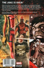 Verso de Deadpool Kills the Marvel Universe (2012) -INT- Deadpool Kills The Marvel Universe