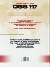 Verso de OSS 117 (Gihef) -1- Tequila molotov pour OSS 117