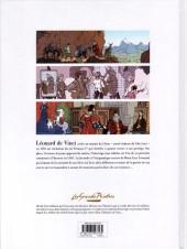 Verso de Les grands Peintres -6- Léonard de Vinci
