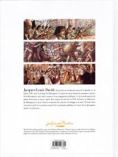 Verso de Les grands Peintres -7- David