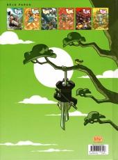 Verso de Zblu Cops -3a2011- Samouraï et fines herbes