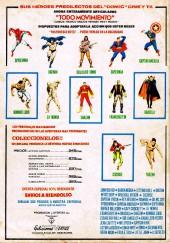 Verso de Selecciones Marvel (Vol.1) -1- Inhumanos: El producto de un calor extraño
