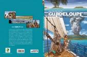 Verso de Histoire des îles de Guadeloupe -4- Une île au large de l'espoir