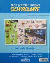 Verso de Les schtroumpfs (Jeux) - Mon premier imagier schtroumpf