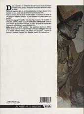 Verso de De silence et de sang -1a86- La nuit du tueur de loups