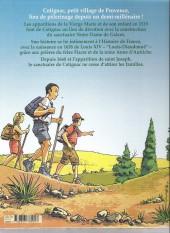 Verso de Sur les chemins de Cotignac - Sur les chemins de cotignac