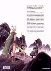 Verso de Griffe Blanche -3- La Voie du sabre