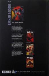 Verso de Batman & Robin -3- Batman impossible