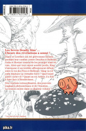 Verso de Seven Deadly Sins -10- Tome 10