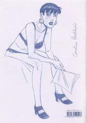Verso de Caroline Baldwin -HS01- Esquisses pour Caroline Baldwin