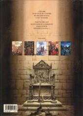 Verso de Le trône d'Argile -3a2014- Henry, roi de France et d'Angleterre
