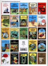 Verso de Tintin (en langues étrangères) -17Finnois- Tinti kuun kamaralla