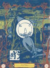 Verso de Bouclettes -1- Opus 1, mince ouvrage - Otto & Cary dans : La place de l'homme de papier