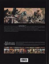 Verso de Ils ont fait l'Histoire -9- Napoléon - Tome 2/3