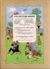 Verso de Tintin (Historique) -12B11- Le trésor de Rackham Le Rouge