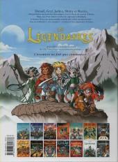 Verso de Les légendaires -2a12- Le gardien