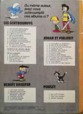 Verso de Les schtroumpfs -9b1978- Schtroumpf vert et vert schtroumpf