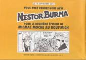 Verso de Nestor Burma (Feuilleton) -1- Micmac moche au Boul'Mich - Numéro 1
