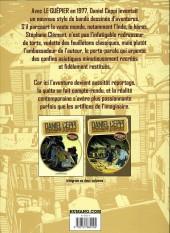 Verso de Stéphane Clément -VOL1- Chroniques d'un voyageur - Intégrale Volume 1